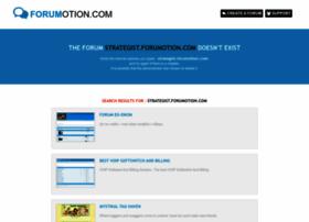 strategist.forumotion.com