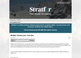 stratfor.libsyn.com