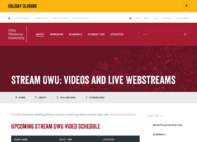 stream.owu.edu