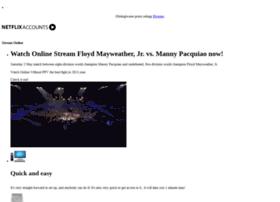 streammayweatherpacquiao.blogspot.com