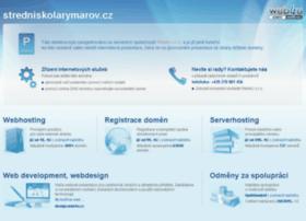 stredniskolarymarov.cz