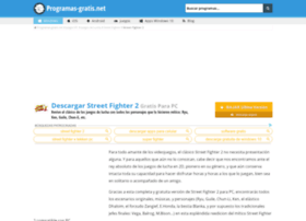 street-fighter.programas-gratis.net