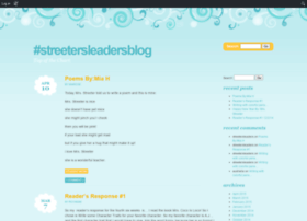 streetersleaders.edublogs.org