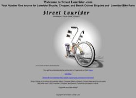 streetlowrider.com