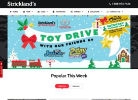 stricklands.com