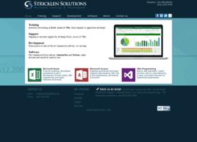 stricklensolutions.com