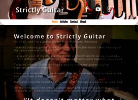strictlyguitar.com