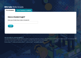 stridelogin.com