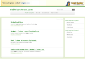 strikebacknow.com