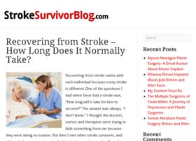 strokesurvivorblog.com
