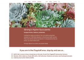 strongsalpinesucculents.com