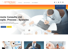 stronixconsults.com