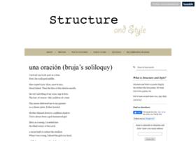 structureandstyle.org