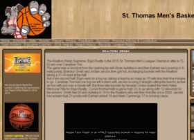 stthomasmensbasketballleague.com