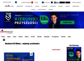 studenci3wieku.studentnews.pl