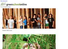 student.greenschool.org