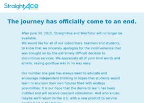student.straightace.com