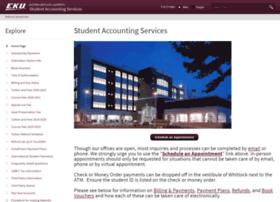 studentaccounting.eku.edu