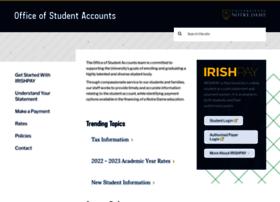 studentaccounts.nd.edu