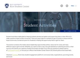 studentactivities.rice.edu