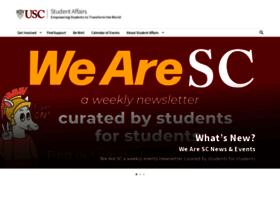 studentaffairs.usc.edu