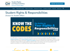 studentconduct.gwu.edu