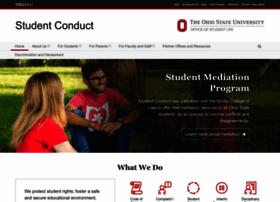 studentconduct.osu.edu