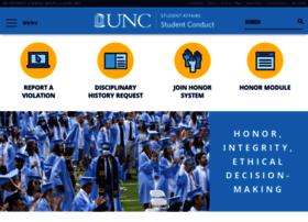 studentconduct.unc.edu