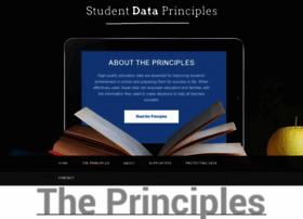 studentdataprinciples.org