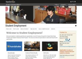 studentemployment.appstate.edu