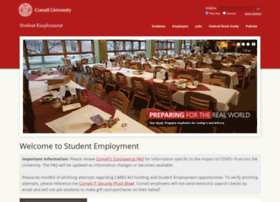studentemployment.cornell.edu