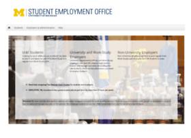 studentemployment.umich.edu