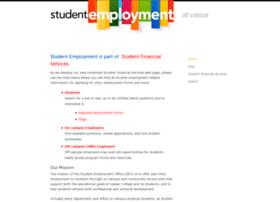 studentemployment.vassar.edu