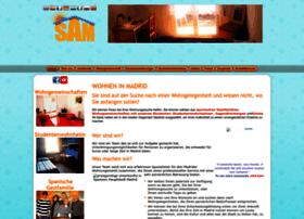 studentenwohnungen-madrid.com