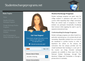 studentexchangeprograms.net