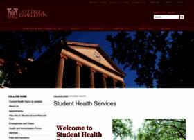studenthealth.cofc.edu