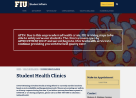 studenthealth.fiu.edu