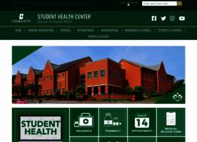 studenthealth.uncc.edu