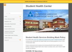 studenthealth.utk.edu