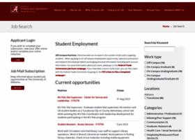studentjobs.ua.edu