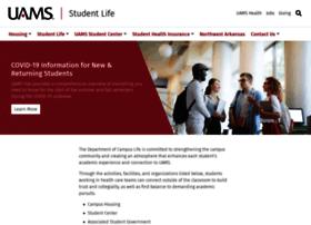 studentlife.uams.edu
