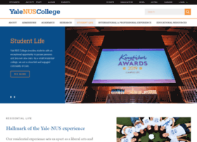 studentlife.yale-nus.edu.sg
