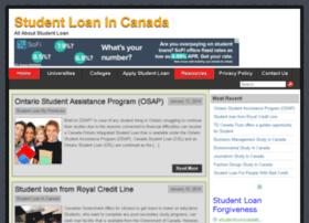 studentloanincanada.com