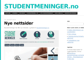 studentmeninger.wordpress.com