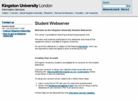 studentnet.kingston.ac.uk