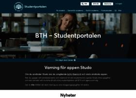 studentportal.bth.se