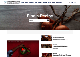 studentrecipes.com