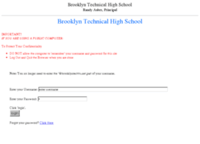 students-brooklyntechhs.theschoolsystem.net