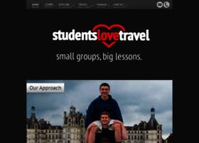 studentslovetravel.com