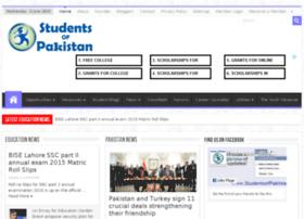 studentsofpakistan.com